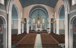 SEATTLE , Washington , 00-10s ; Interior & Altar, St. James Cathedral