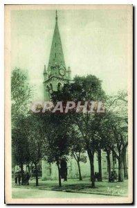 Postcard Old Charente Church fouras