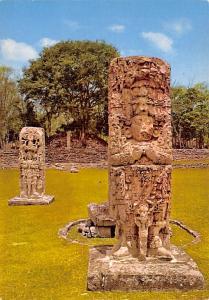 Honduras, Central America Esteal Maya Ruinas de Copan  Esteal Maya Ruinas de ...