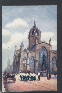Scotland Postcard - St Giles Cathedral, Edinburgh  HP173