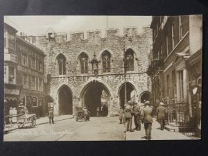 Hampshire Southampton Bargate South Excellent Animated Street Scene Old Postcard