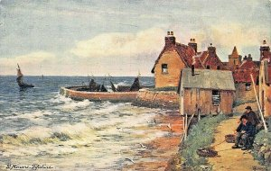 ST MONANS~FIFESHIRE COAST~SCOTLAND ABERCROMBIE-FIRTH OF FOURTH-TUCK AS POSTCARD