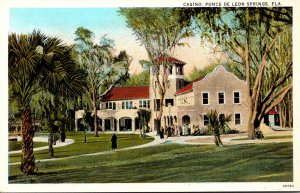 Florida Ponce de Leon Springs The Casino Curteich