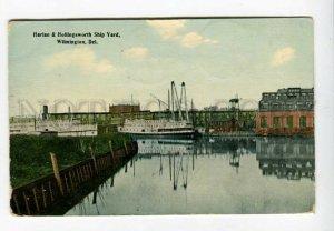 3158364 USA Del. WILMINGTON Harlan & Hollingsworth Ship Yard