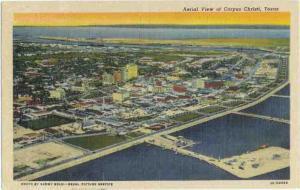 Linen Air View of Corpus Christi Texas TX