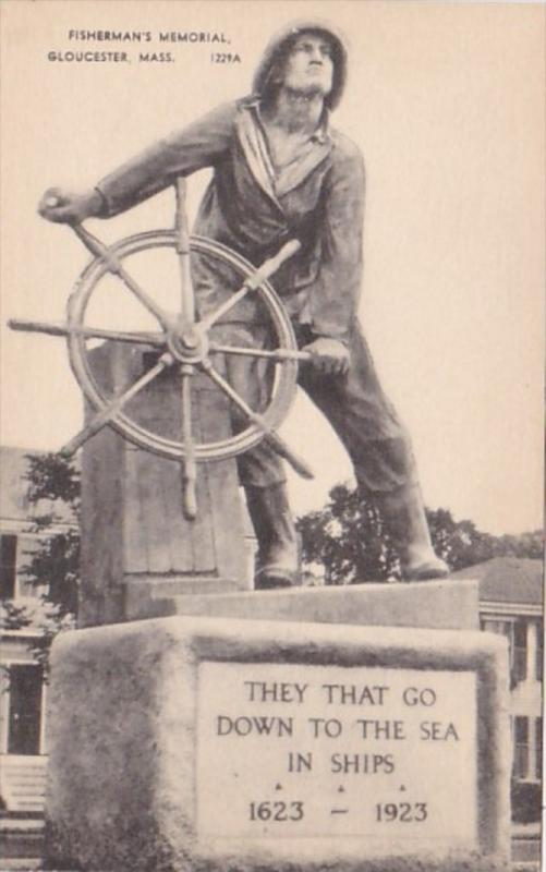 Massachusetts Gloucester Fisherman's Memorial