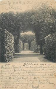 Austria Wien Schonbrunn 1908