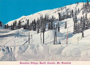 Sunshine Village, Mt. Standish, Banff, Alberta, Canada, 1960-1970s