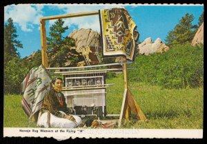 Navajo Rug Weavers at the Flying W