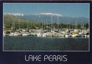 California Lake Perris Marine Area