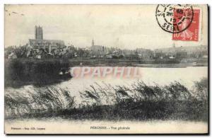 Old Postcard Peronne Vue Generale