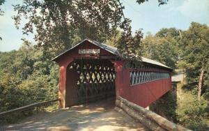 Covered Chiselville Bridge - East Arlington VT, Vermont