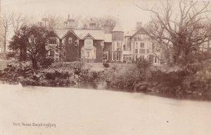 York House Sandringham Norfolk Antique Real Photo Postcard
