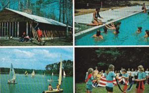 Girl Scout Camp Kittamaqund , BURGESS , Virginia , 50-60s