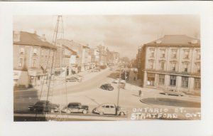 RP: STRATFORD , Ontario , Canada , 1930s-40s ; Ontario Street