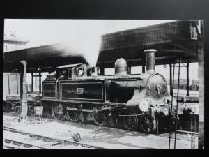 alt Dampflokomotive no.3044 Fotokarte