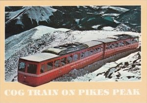 Cog Train On Pikes Peak Colorado 1989