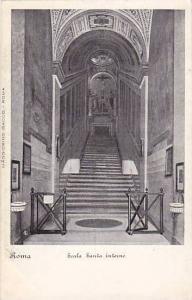 Roma, Scala Santa interno, Italy, 00-10s