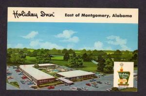 AL Holiday Inn Hotel Motel MONTGOMERY ALABAMA Postcard