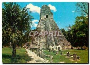 Postcard Modern Templo Gran Jaguar Tikal Peten Guatemala