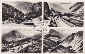 RP, 4-Views, Passes Of Wales, UK, PU-1954
