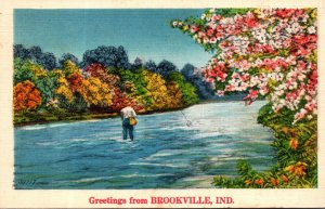 Indiana Greetings From Brookville