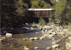 Oregon Creek Covered Bridge Grass Valley California