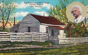 The Birthplace Of Mark Twain Florida Hannibal Missouri