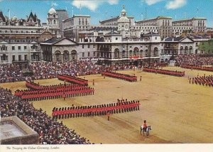 England Trooping the Colour on Horse Guards Parade