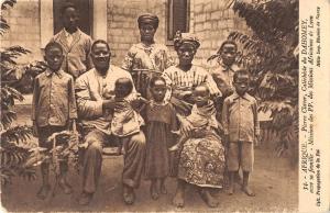 BR56909 Afrique Pierre Claver Catechiste du Dahomey avec sa famille     Africa