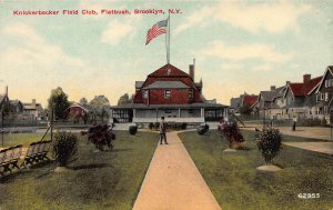 Knickerbocker Field Club, Flatbush, Brooklyn, N.Y., Early Postcard, Unused