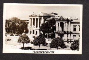MA Museum of Fine Arts  Real Photo Postcard RPPC Boston Mass Massachusetts