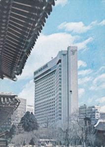 SEOUL, South Korea, 1950-1970's; Seoul Plaza Hotel