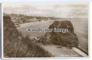 tp9102 - Devon - Red Rock & Fishing Boats on the Shore, at Dawlish - postcard