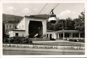 germany, BAD HARZBURG, Bergseilbahn, Cable Car 50s RPPC