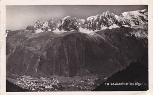 France Chamonix Mont Blanc et les Aguilles Photo