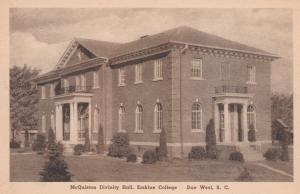DUE WEST, South Carolina, 1910-30s; McQuiston Divinity Hall, Erskine College