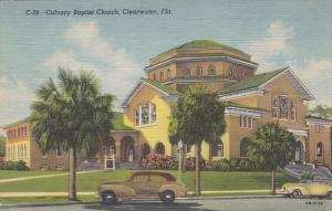 Calvary Baptist Church, Clearwater, Florida, 30-40s