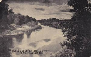 Cloud scene on James River,  Mitchell,  South Dakota,  PU_1914