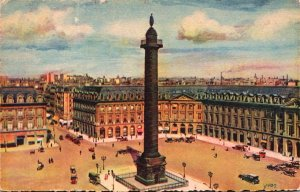 France Paris Place et Colonne Vendome