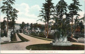 Lakewood NJ Georgian Court Grounds New Jersey Unused ANC Postcard F48
