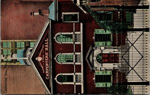 Postcard PA Pennsylvania Philadelphia Carpenters Hall Unposted