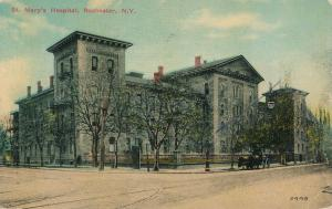 Rochester, New York - St Mary's Hospital - pm 1915 - DB