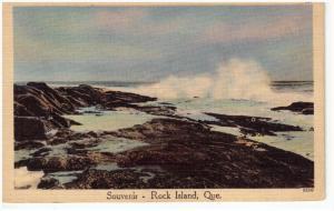 Surf , ROCK ISLAND , Quebec , Canada , 30-40s