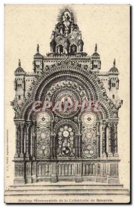 Beauvais Oise - Monumental Hologe the Cathedral Old Postcard