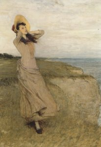 William Quiller Orchardson On The North Foreland Painting Postcard