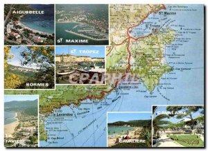 Postcard Modern Light And Beauty Of The Cote d & # 39Azur Souvenir De La Cote...