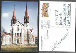 Czech Republic, Wallfahrtsbasilika in Philippsdorf, mailed.