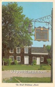 Walt Whitman House Huntington, L.I. NY Unused