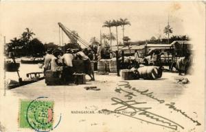 CPA TAMATAVE Debarcadere MADAGASCAR (709664)